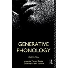 Generative Phonology (Linguistic Theory Guides)