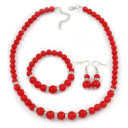 Red Bead Necklace Amazon. Ruby Engagement Rings. Baptism Medallion. Station Bracelet. Platinum Bangles. Golden Triangle Necklace. Diy Bracelet. 24k Chains. Saints Necklace
