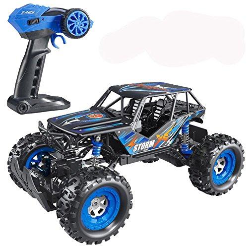Je mehr Offroad-fernbedienung Auto Kinderspielzeug Junge (ohne Batterien), bleu