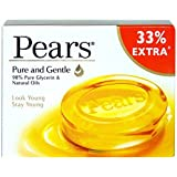 Pears Pure and Gentle Bathing Bar, 100g - Pack of 3