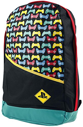 565e47099353c Mochila PlayStation - Backpack with Colored Controllers Print
