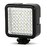 LED 49 Continuo en la luz del panel LED de la cámara, videocámara portátil de la cámara...
