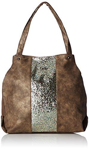 lpb-woman-w16b1203-sac-porte-main-multicoloremarron-argent-taille-unique