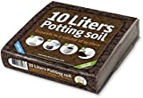 Organic All Purpose Potting Compost Enriched with Nutrients - Lightweight Pack Expands to 10 Litres