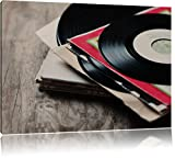 Dark Mixtape, Schallplatte, DJ, Leinwandbild, Kunstdruck, Keilrahmen, Motive, Poster, riesig, gerahmt, Wandbild, Gemälde, Ölbild, Plakat, Format:100x70 cm