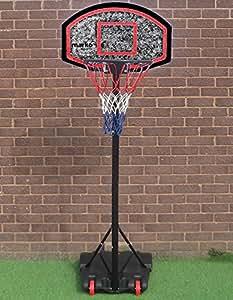 Marko Sports Free Standing Basketball Net Hoop Backboard