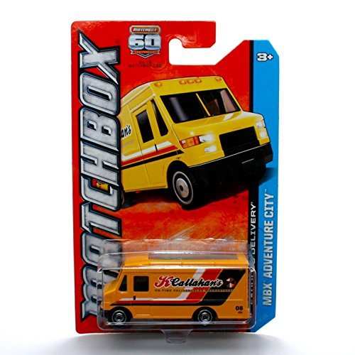 express-delivery-yellow-mbx-adventure-city-60th-anniversary-matchbox-2013-basic-die-cast-vehicle-28-