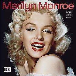 Marilyn Monroe 2019 Mini Wall Calendar
