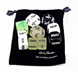WJkuku adult dice game for couples, erotic sex, great foreplay, for Valentines day, gift, set of 10