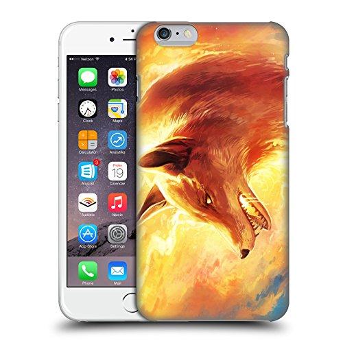 Ufficiale Jonas jojoesart Jödicke Lupo Galassia Animali Selvatici Cover Retro Rigida per Apple iPhone 6 / 6s Volpe Di Fuoco