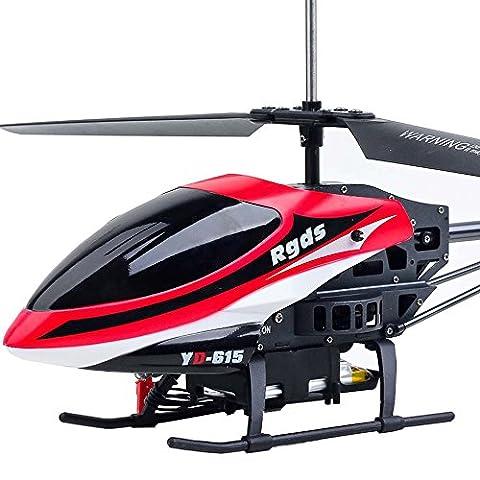 Hélicoptère Jouet Enfant, Manadlian YD615 lampe LED double hélice lumineuse