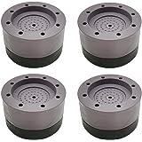LINSOCLE 4 Pièces Patins Anti Vibration, Patin Anti Vibration Machine à Laver, Universel Pieds Stabilisateur Piédestal pour M