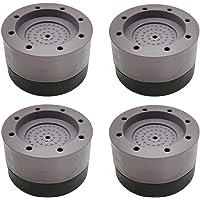 LINSOCLE 4 Pièces Patins Anti Vibration, Patin Anti Vibration Machine à Laver, Universel Pieds Stabilisateur Piédestal…
