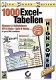 Produkt-Bild: 1000 praktische Excel-Tabellen