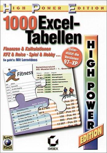 1000 praktische Excel-Tabellen