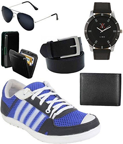 lime offers combo of shoes and watch wallet belt sunglasses and cardholder (10)