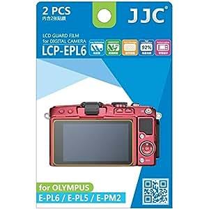 JJC Guard Film Protection d'écran pour Olympus Pen E-PL5, E-PL6, E-PM2 (2 pièces) - protection d'écr
