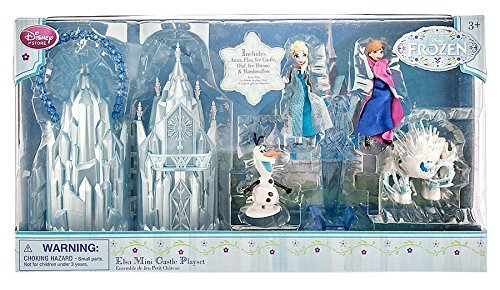 Disney Store Frozen Elsa Mini Castle Playset
