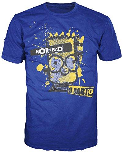 Bart - Born Bad (Shirt S/Blue)