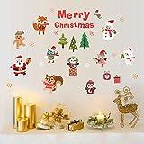 Alicemall Adesivi da Parete Wall Sticker per Natale Christmas Decorazione Fai da Te (Stile 3)