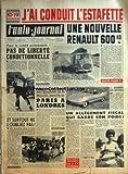 AUTO JOURNAL (L') [No 227] du 01/08/1959 - J'AI CONDUIT L'ESTAFETTE - POUR LE CREDIT AUTOMOBILE - PAS DE LIBERTE CONDITIONNELLE PAR L'A.-J. - UNE NOUVELLE RENAULT 600 KG PAR BERNARD CARAT - ET SURTOUT NE L'OUBLIEZ PAS ! PAR G. G. - AVEC LES NOUVEAUX DON QUICHOTTE DE LA MANCHE, BATAILLE DE PARIS A LONDRES - MON BEAU VILLAGE ! - LA GOGGOMOBIL DES ANTIPODES - UN ALLEGEMENT FISCAL QUI GARDE SON POIDS ! PAR MAURICE EVRARD - NE VOUS EN LAISSEZ PAS COMPTER - MOTEUR - REGLAGE DES CULBUTEURS - RODAGE DE