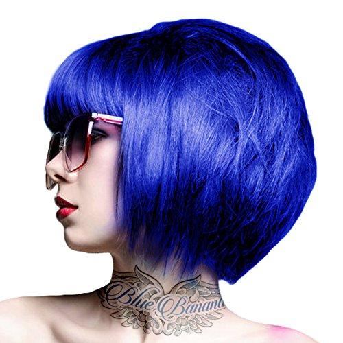 Tintura Per Capelli Semi-Permanente 100ml Crazy Color (Blu Cielo)