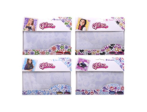Knorrtoys-GL7999-Glitza-paquetes-de-repuesto-de-1-hoja-de-tatuaje-y-2-polvos-finos-brillo-adicional-4-mezclas-de-colores-sin-clasificar-colorido