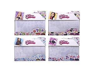 Knorrtoys GL7999 Glitza, Paquetes de Repuesto de 1 Hoja de Tatuaje y 2 Polvos Finos Brillo Adicional, 4 Mezclas de Colores sin clasificar, Colorido
