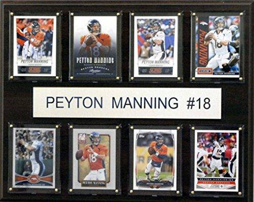 C & I Collectables NFL Denver Broncos Peyton Manning gefaltet Plaque, 12x 15Zoll