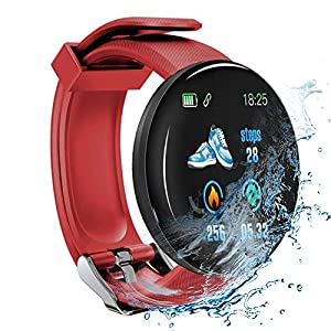 Minoni Smartwatch, Fitness Pulsera Reloj Completo Touch Screen Fitness Reloj IP68 estanco Fitness Tracker Sportuhr con… 10