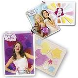 Simba - Violetta tarjeta maquillaje sombras y pintalabios, 6 x 8 cm (5017732)