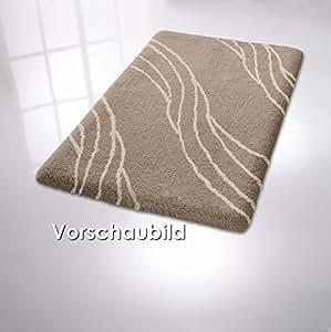 Kleine wolke tapis de bain rialto couleur: vert-dimensions: 70 x 120 cm