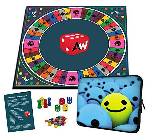 ettspiel, interaktives Quiz-, Wissens- und Familienspiel mit App für iOS und Android mit Tasche im Spiel & Spass-Layout (Spaß Und Spiele)