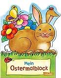 Mein Oster-Malblock (Osterwiese): Lustige Ausmalmotive für Ostern und Frühling