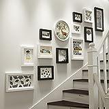 Fotorahmen Wand Set Treppen Collage Holz Bilderrahmen Hängende Dekorative Gemälde Für Artwork Familie Korridor Gang, Sets Von 13,A