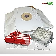 16x Bolsas de aspiradora + Hepa + Filtro de Motor Adecuado LX Intelligence polvo contenedor