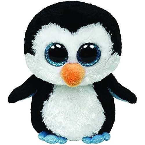 peluches Ty 36008 Beanie Boos Waddles - Peluche de pingüino [Importado de Alemania]