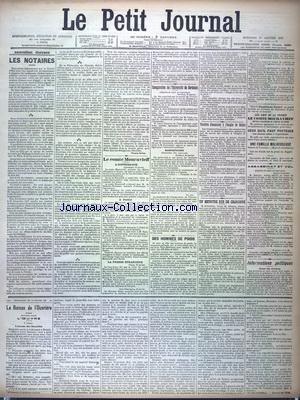PETIT JOURNAL (LE) [No 12451] du 27/01/1897