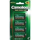 Camelion 10000414 Super heavy duty Batterien R14/ Baby/ 4er Pack