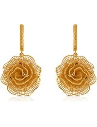 Bhima Jewellers 22Kt Yellow Gold Pendant Set For Women - B07BVNH2JM