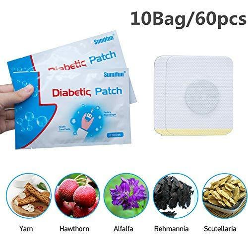 Selotrot 60 Stk Diabetiker Patch Natürliche Kräuter Reduzieren Hoher Blutzucker Gips -