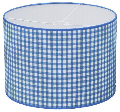 Taftan Suspension Gros carreaux bleu clair (35 cm de diamètre) - Bleu clair