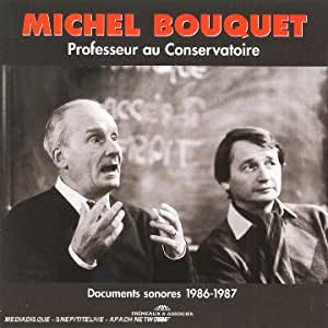 Professeur Aconservatoire Anthologie 1986-1987