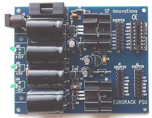 Eurorack Modularsynthesizer–Netzteil (ohne externe Stromversorgung)