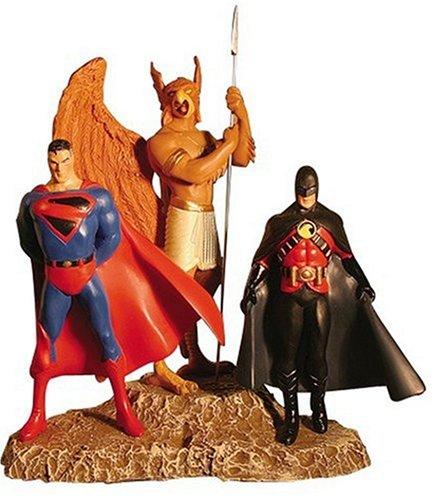 kingdom-come-alex-ross-superman-hawkman-red-robin-statua