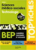 Sciences médico-sociales BEP, Tome 2 : Technologie