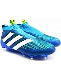 adidas Ace 16+ pureco SmartControl SG Bota de Fútbol aq3923Azul gr 42,5UK 8,5