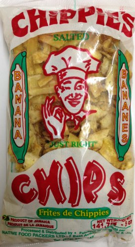 Chippie's Salted Banana Chips 141.75g Test