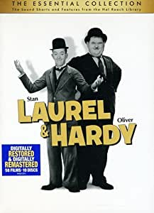Laurel and Hardy: The Essential Collection Import italien