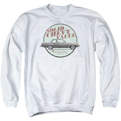 chevrolet-autos-classic-78-malibu-ad-solid-value-adult-crewneck-sweatshirt